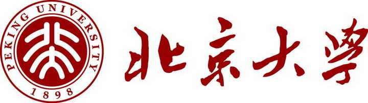 北京大学校徽图案带校名LOGO图片素材|png