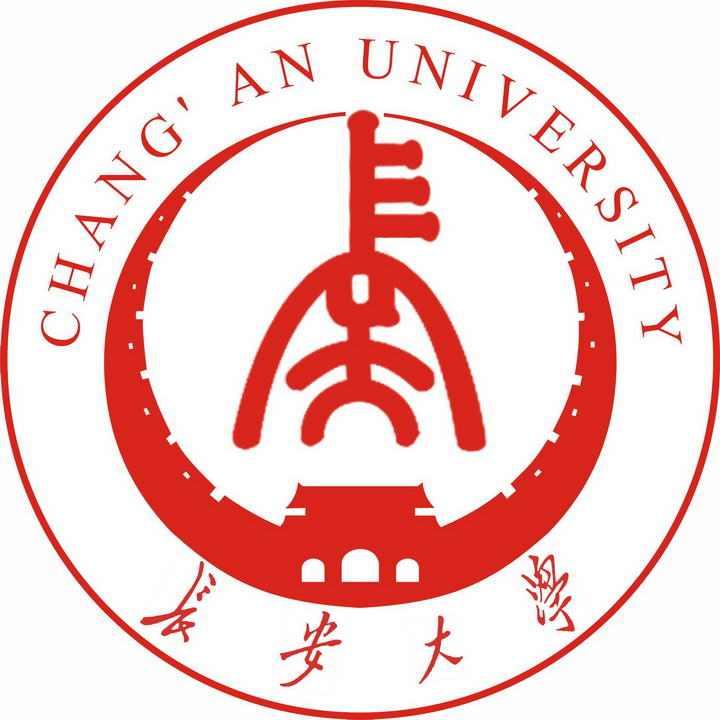 长安大学校徽图案图片素材