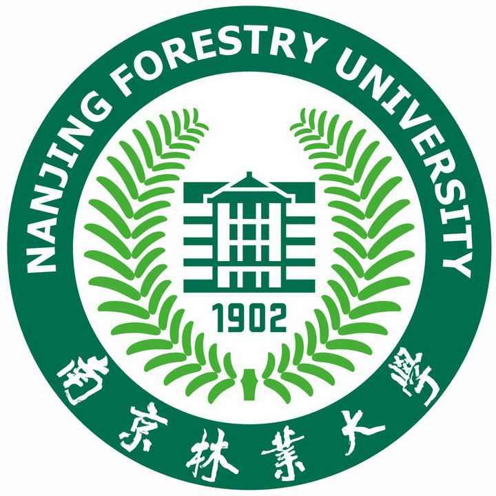 南京林业大学校徽图案图片素材