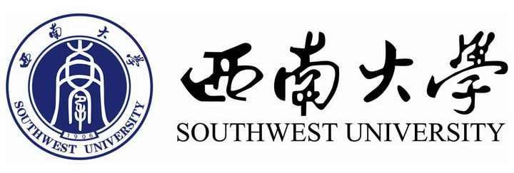 西南大学校徽图案带校名图片素材
