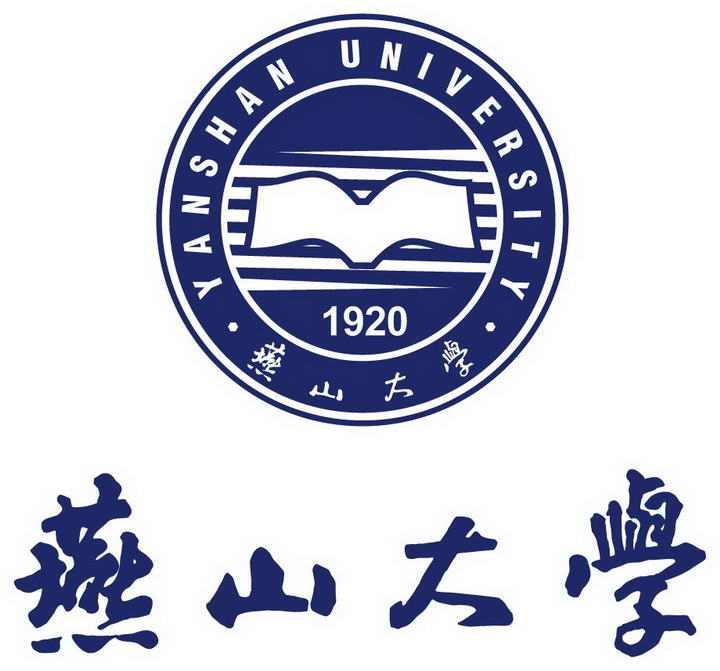 燕山大学校徽图案带校名图片素材