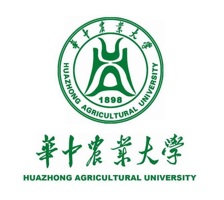华中农业大学校徽图案带校名图片素材