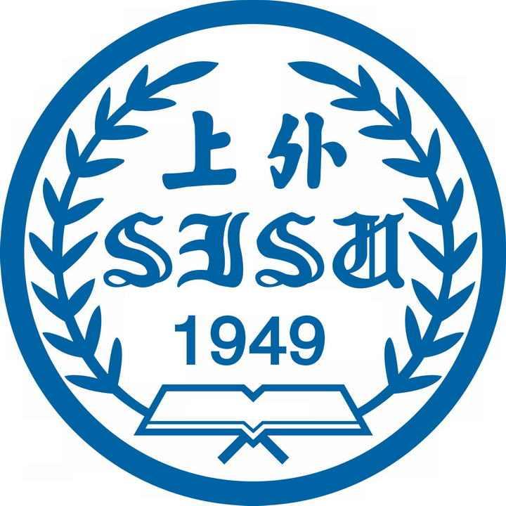 上海外国语大学校徽图案图片素材