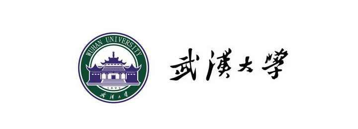 武汉大学校徽图案带校名LOGO图片素材|png