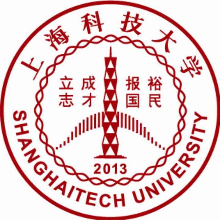 上海科技大学校徽图案图片素材