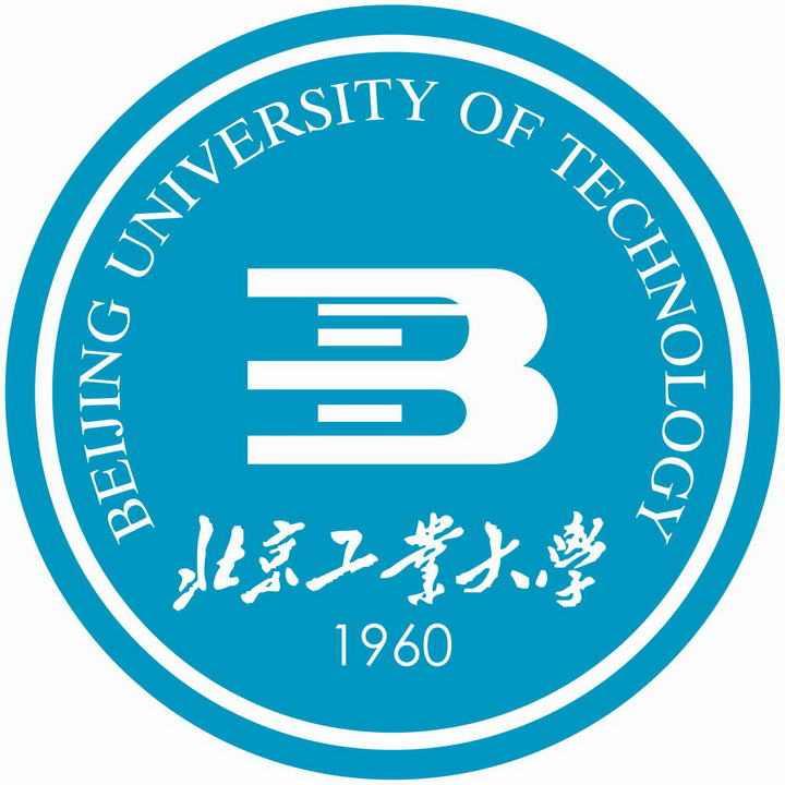 北京工业大学校徽图案图片素材