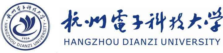 杭州电子科技大学校徽图案带校名LOGO图片素材|png