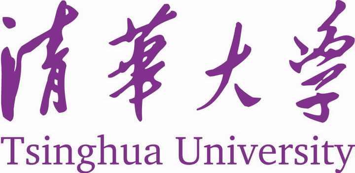 清华大学校名校徽图案图片素材|png