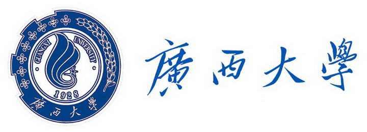 广西大学校徽图案带校名图片素材