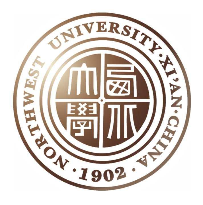 西北大学校徽图案图片素材