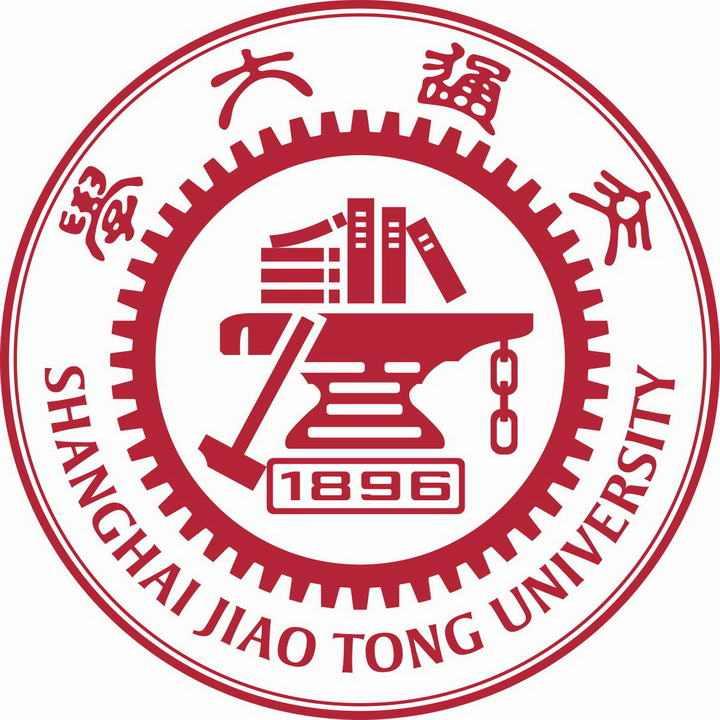 上海交通大学校徽图案带校名LOGO图片素材|png