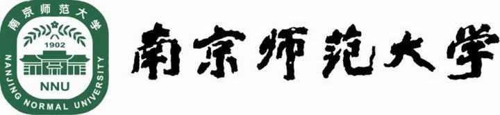 南京师范大学校徽图案带校名图片素材