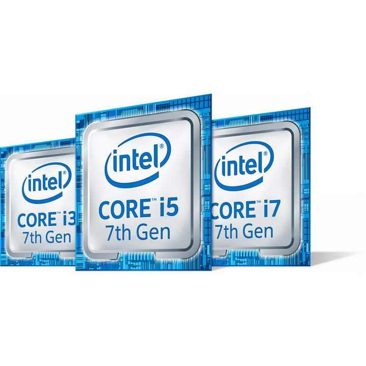 高清英特尔intel酷睿i3/i5/i7处理器电脑配件图片透明背景免抠素材