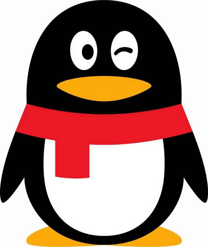 高清透明背景腾讯QQ企鹅标志 LOGO图标图片免抠素材