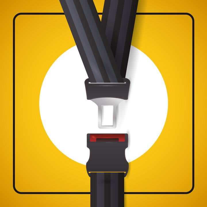 驾车安全汽车安全带提示png图片免抠素材