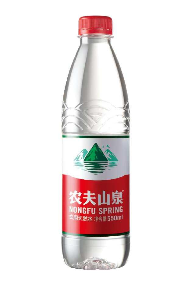 一瓶农夫山泉矿泉水透明背景png图片免抠素材