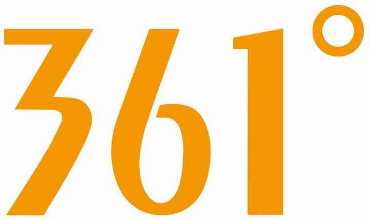运动品牌361°标志图标LOGO透明背景png图片素材