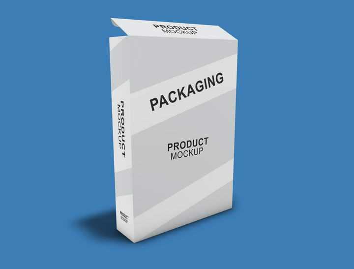 A4打印纸纸张包装盒样机图片免抠设计素材