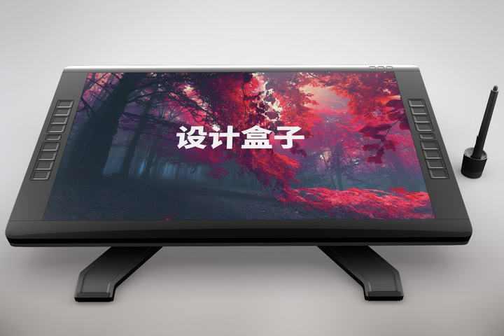 一体式电脑一体机显示样机图片设计素材