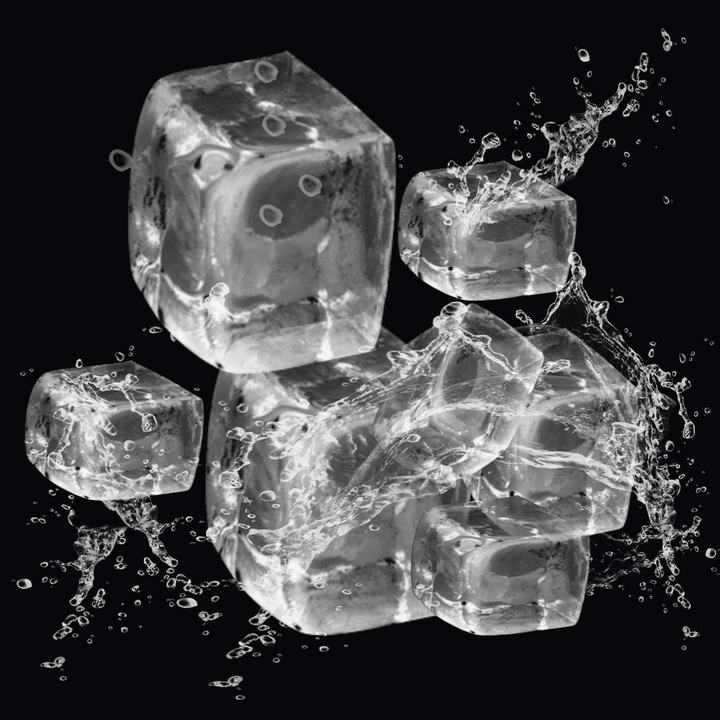 立方冰块图片免抠素材