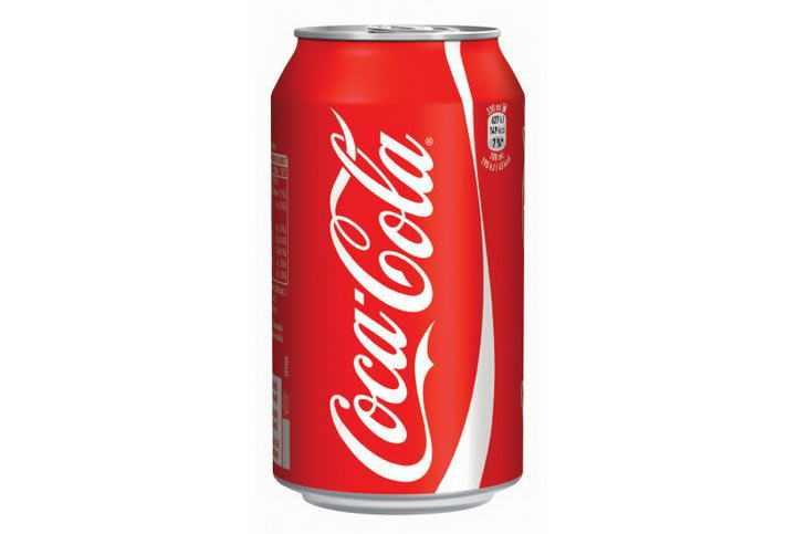 一款最新包装的红色可口可乐易拉罐图片免抠素材