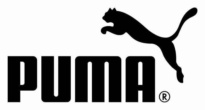 黑色德国运动品牌PUMA(彪马)标志图标LOGO透明背景png图片素材