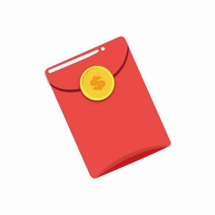 简约高光风格红包图片免抠素材