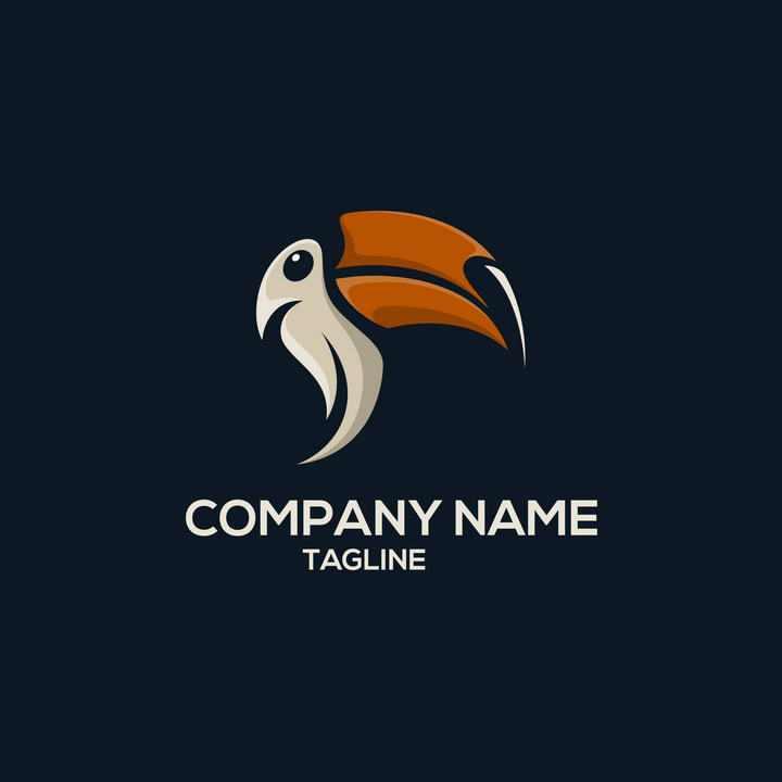 鹦鹉LOGO商标图片设计素材
