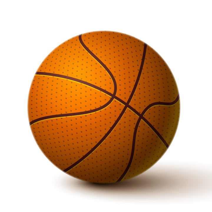逼真的篮球图片免扣素材