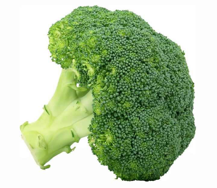 一颗西兰花蔬菜图片免抠素材