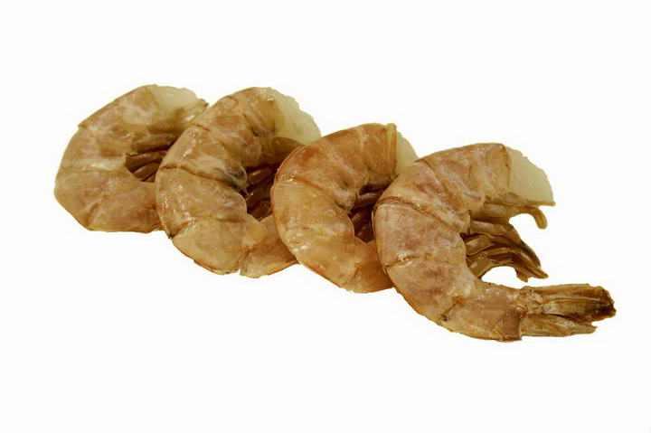 煮熟的河虾对虾虾尾美食图片免抠素材