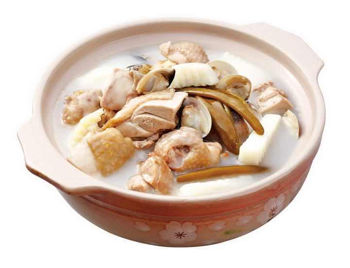 一碗美味香菇炖鸡汤图片免抠素材
