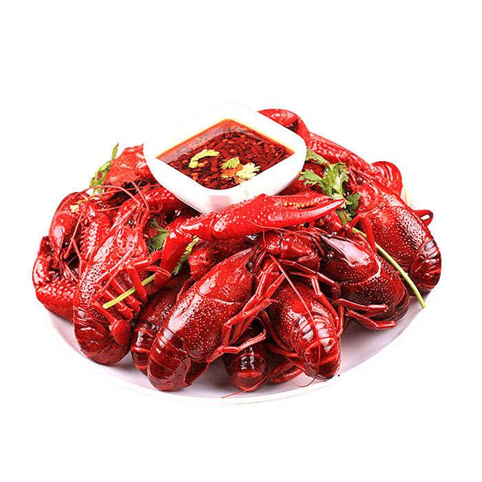 美味又好看的麻辣小龙虾河鲜美食图片免抠素材
