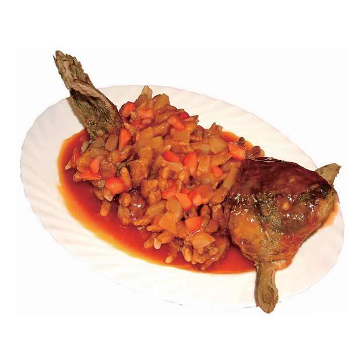 好看好吃的松鼠鱼河鲜美食图片免抠素材