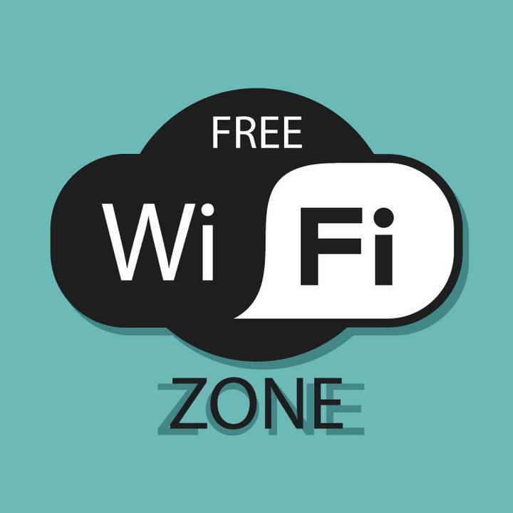 免费WiFi无线信号标志免扣图片素材