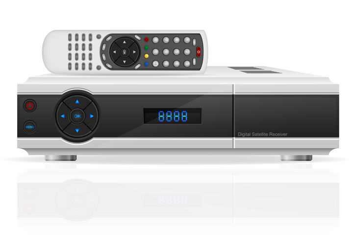 电视机顶盒遥控器免扣图片素材