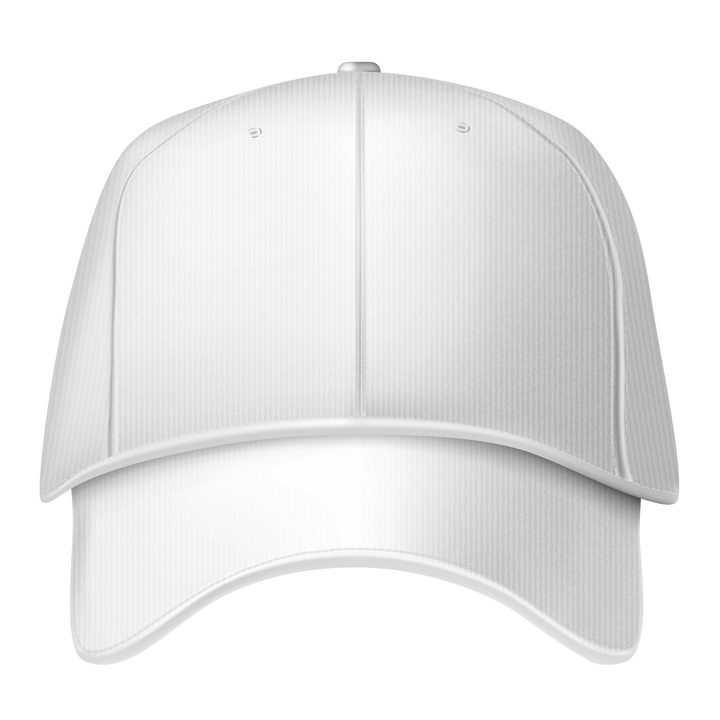 白色的鸭舌帽帽子图片免抠素材