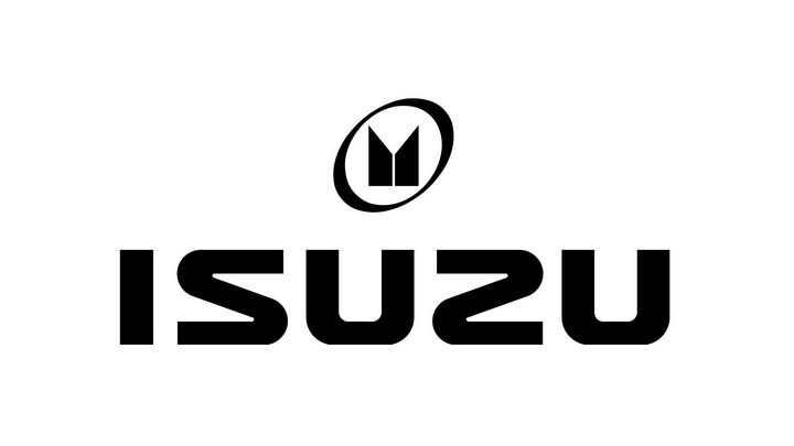 黑色isuzu五十铃汽车标志大全及名字图片免抠素材