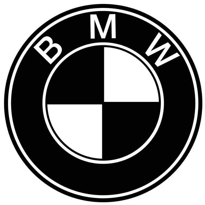 黑色宝马汽车标志大全及名字图片免抠素材