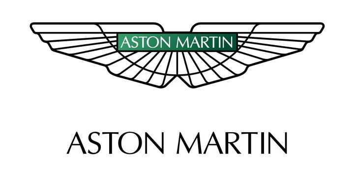 豪华跑车品牌阿斯顿马丁汽车标志大全及名字图片免抠素材