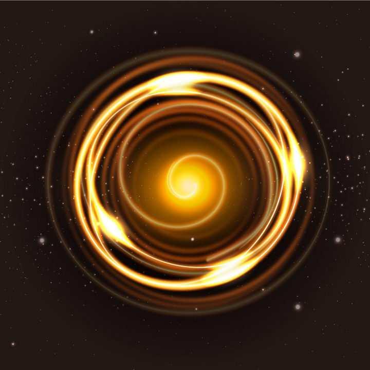 宇宙旋转螺旋发光星光效果图片免抠矢量图素材