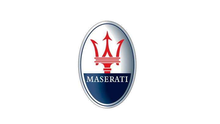 豪华跑车品牌标准玛莎拉蒂汽车标志大全及名字图片免抠素材