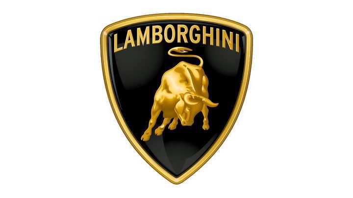 豪华跑车品牌兰博基尼汽车标志大全及名字图片免抠素材