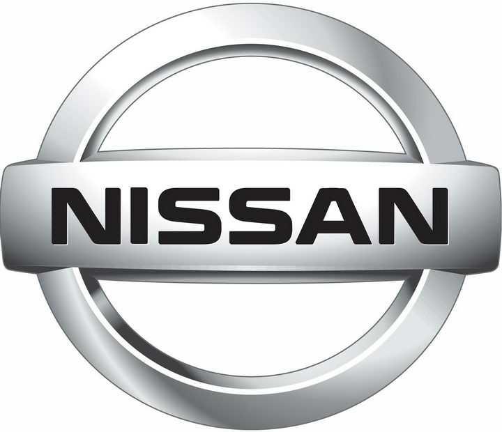 金属色日产汽车标志大全及名字图片免抠素材
