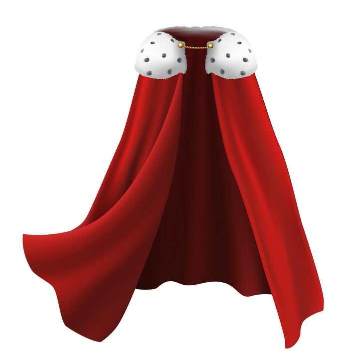 红色披风服装图片免抠矢量素材