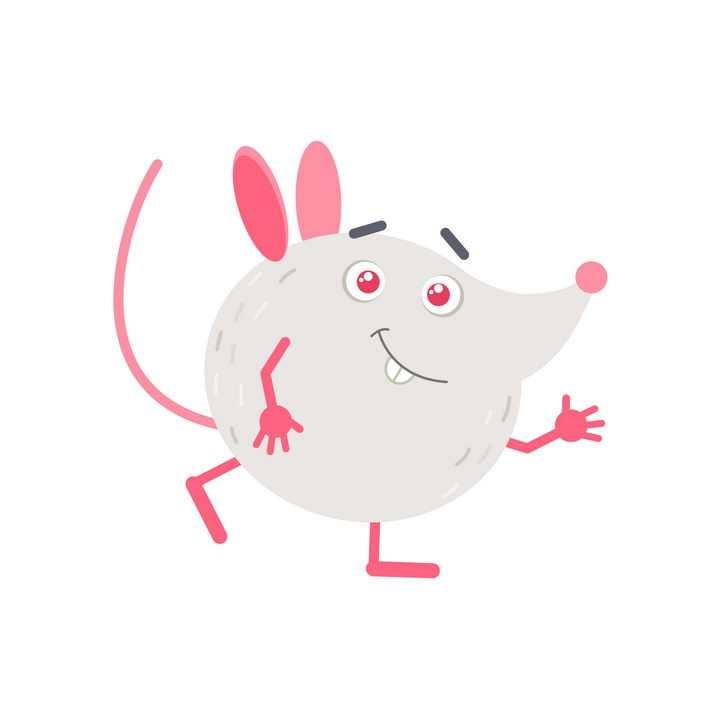 可爱卡通大头老鼠图片免抠矢量图素材