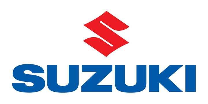 扁平化风格suzuki铃木汽车标志大全及名字图片免抠素材
