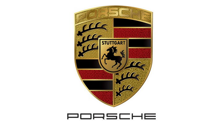 豪华跑车品牌保时捷汽车标志大全及名字图片免抠素材 标志LOGO-第1张