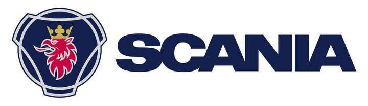 横排scania斯堪尼亚汽车标志大全及名字图片免抠素材