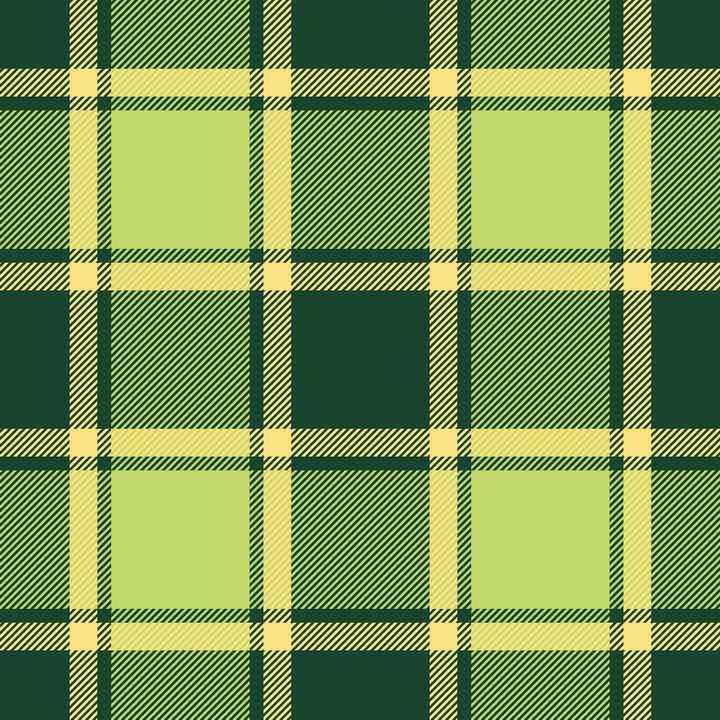 深绿和浅绿色花格子布背景图片